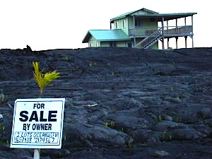 house for sale on the lava flow