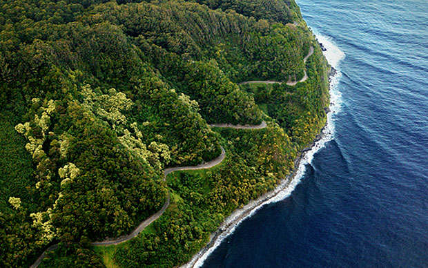 The rain forest road to Hana